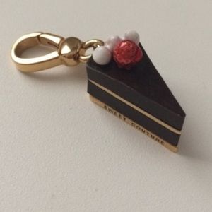 New Juicy Couture Chocolate Cake Slice Charm